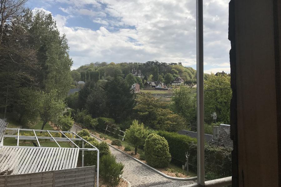 vue chambre clairefontaine hameau du grand bec