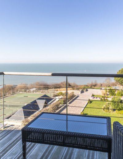 Normandy balcon vue sur mer