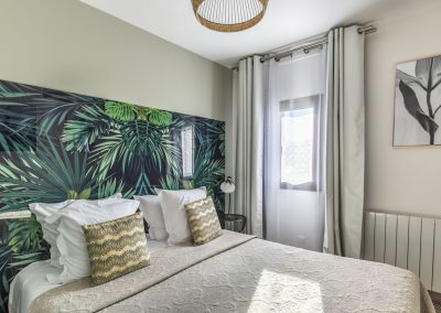 Tennis chambre tropicale