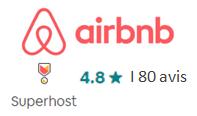 note airbnb hôtel normandie