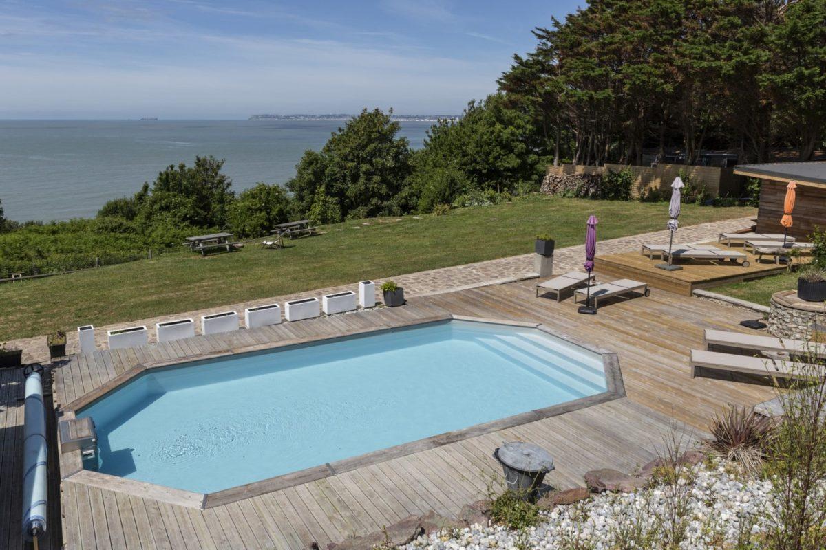 piscine hôtel normandie
