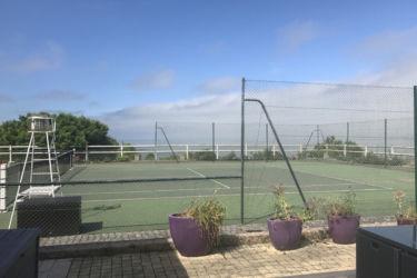 terrain de tennis villerville face mer